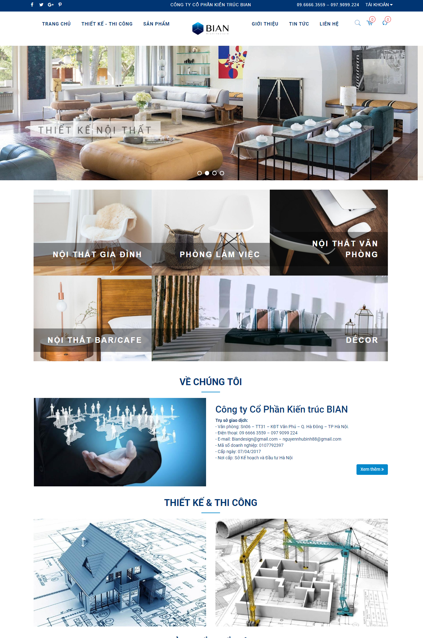 Công ty Cổ Phần Kiến trúc BIAN